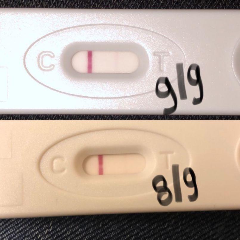 Is Dit Een Positieve Test Babybytes